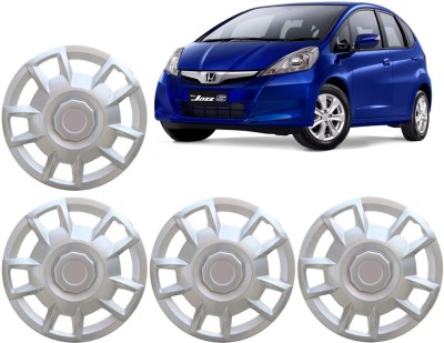 Auto Pearl Premium Quality Car Full Caps Silver 15 Inches For - Honda Jazz Wheel Cover For Honda Jazz