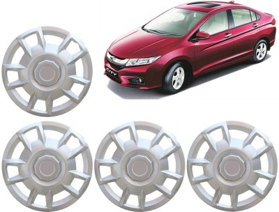 Auto Pearl Premium Quality Car Full Caps Silver 15 Inches For - Honda City Ivtec Wheel Cover For Honda City