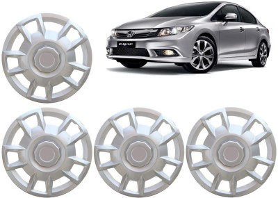 Auto Pearl Premium Quality Car Full Caps Silver 15 Inches For - Honda Civic Wheel Cover For Honda Civic