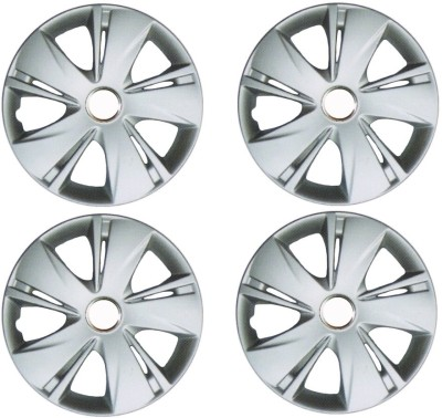 Auto Pearl Premium Quality Car Full Caps Silver 13Inches Wheel Cover For Maruti Esteem