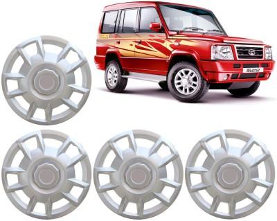 Auto Pearl Premium Quality Car Full Caps Silver 15 Inches For - Tata Sumo Wheel Cover For Tata Sumo