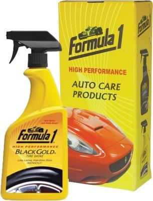 Formula 1 Black Gold 680 ml Wheel Tire Cleaner(Pack of 1)