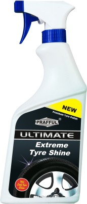 PRAFFUL PI-18 525 ml Wheel Tire Cleaner