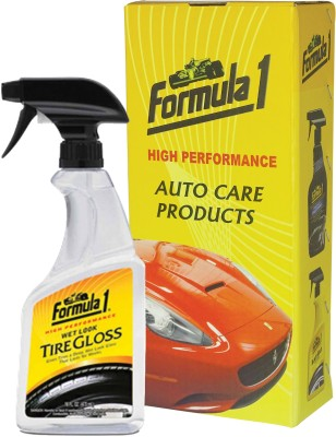 Formula 1 Wet Look Tire Gloss 473 ml Wheel Tire Cleaner(Pack of 1)