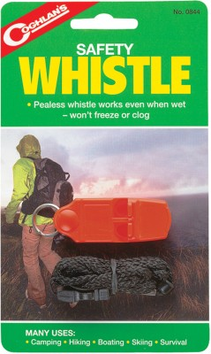 Coghlans Safety Pealess Whistle
