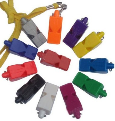 Sahni Sports Official Plastic Pealess Whistle