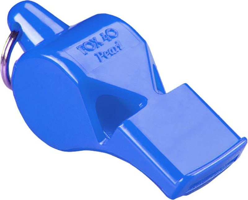 FOX 40 Pearl Safety without Lenyard 9702-0508 Pealess Whistle(Blue, Pack of 1)