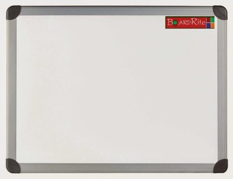 Boardrite Premium Non Magnetic Melamine Small Whiteboards(Set of 1, White)