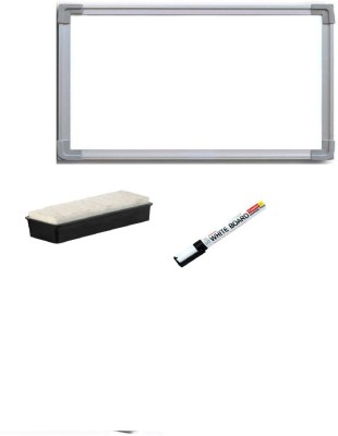 Action World Non Magnetic white small Whiteboards(Set of 1, White)