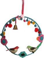 Creative Textiles Iron Windchime(9 inch, Multicolor)