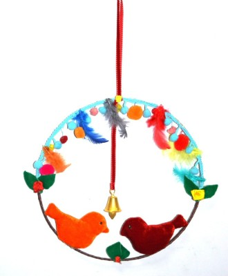 Creative Textiles Iron, Cotton Windchime