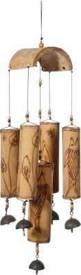 Urban Monk Creations Wooden, Iron Windchime