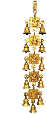 Aakrati Wall Hanging Decorative Brass Windchime