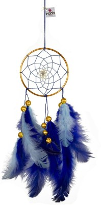 Rooh Dream Catcher Wool, Brass Windchime