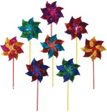 In the Breeze Staked Pinwheel Spinner Wi...