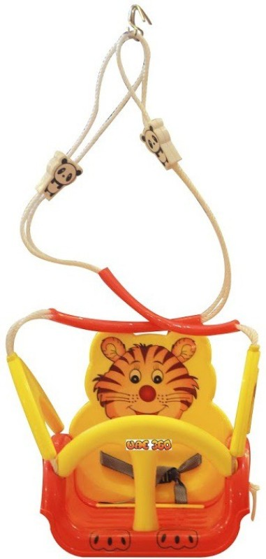 UAE 360 Panda Suspended Musical Swing Wind Spinner(Red, Yellow)