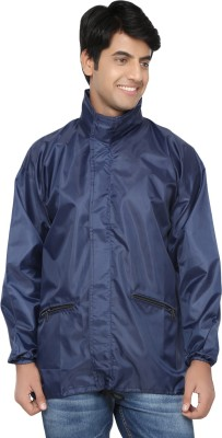 Riddhi Impex RubberRised Solid Men's Wind Cheater