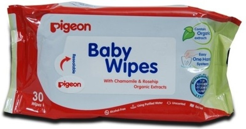 Pigeon Baby Wipes(30 Pieces)