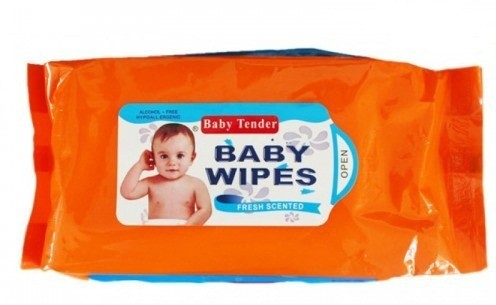 Baby Tender WET WIPES (80 SHEETS)(1 Pieces)