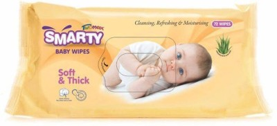 Smarty Twomax Baby Cotton Wipes