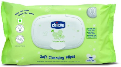 Chicco Wipes Fliptop Pack 72 Pcs