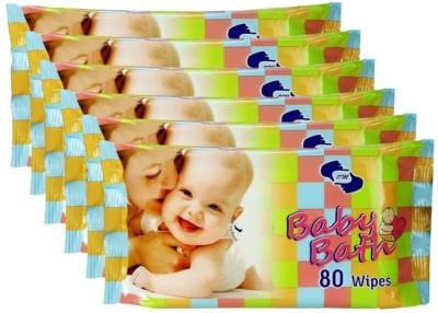 OM Wipes-480 Pieces(6 Pieces)