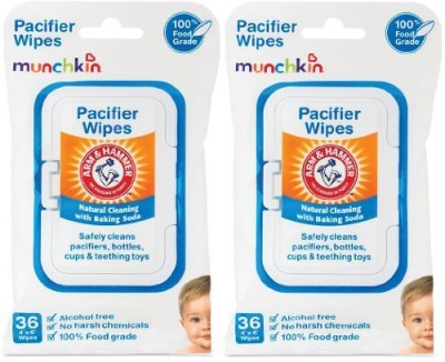 Munchkin 72 Pack Arm And Hammer Pacifier Wipes