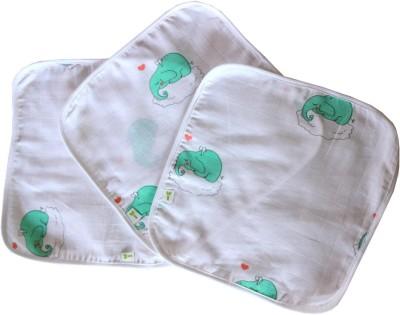 Little Green Kid Organic Muslin Wipe and Burp Cloth