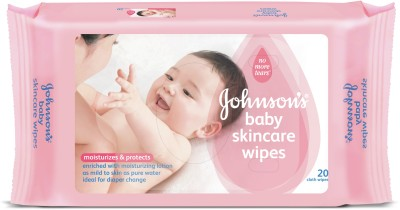 Johnson's Baby JB Wipes 20s
