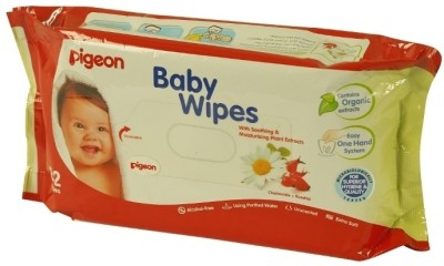 Pigeon Baby Wipes Chamomile & Rosehip
