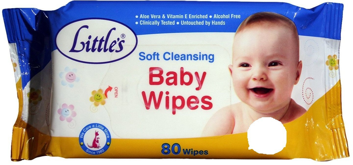 Little's Baby Soft Cleansing Wipes(3 Pieces)