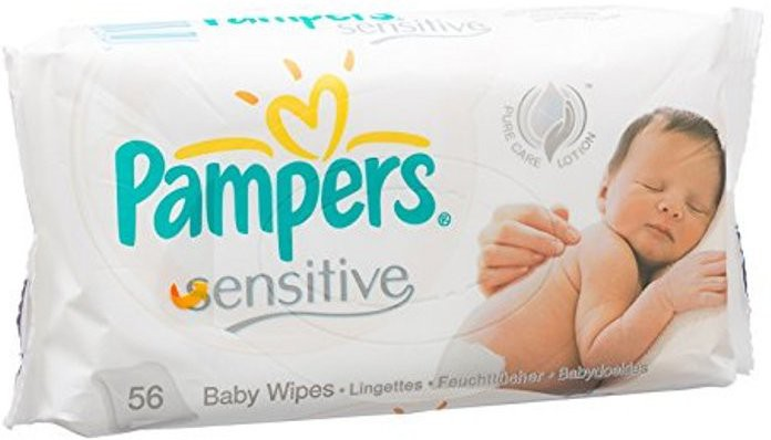 Pampers Sensitive Wet Wipes(56 Pieces)