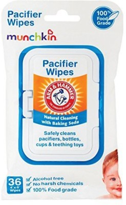 Munchkin 36 Pack Arm and Hammer Pacifier Wipes