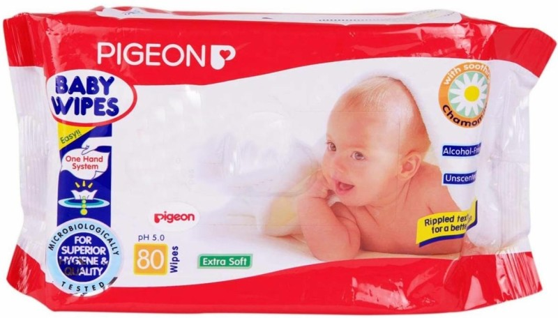 Pigeon Baby Wipes(80 Pieces)