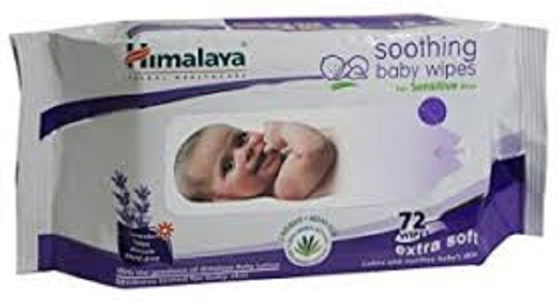 Himalaya Soothing Baby Wipes 72 Sheet(1 Pieces)