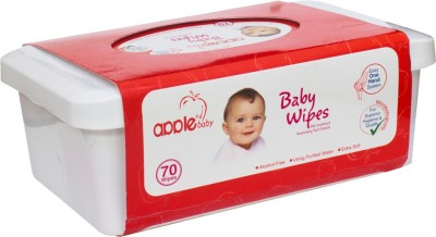 Apple Baby Cotton Wipes