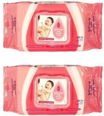 Johnsons Baby Wipes (New) With Flip Top