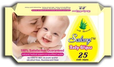 Salang Baby Wipes Aloveera 25Pcs