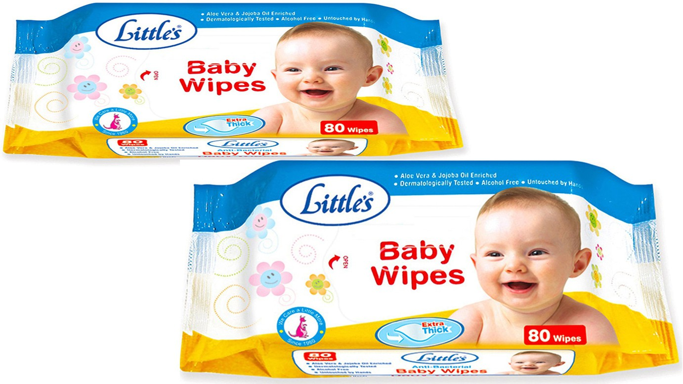 Little's BABY WIPES(2 Pieces)