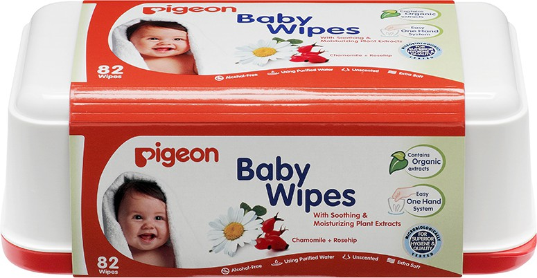 Pigeon Baby box wipes(82 Pieces)