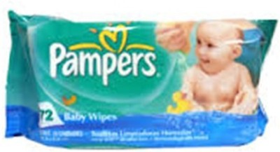 Pampers Baby Fresh Wipes(72 Pieces)