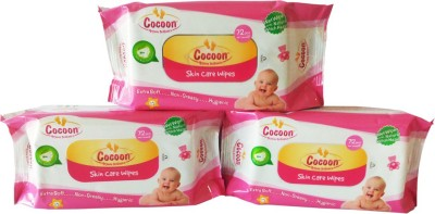 Cocoon Skin Care Wipes C-72