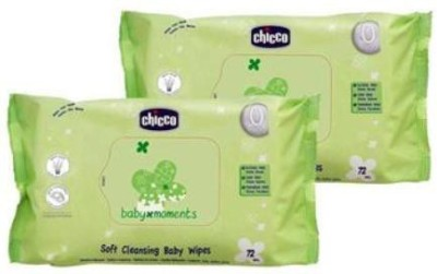 Chicco Baby Wipes Combo Pack(2 Pieces)
