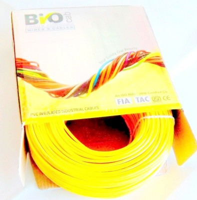 Bio Cab 1.00 sq.mm Yellow Commercial & Industrial Use Wire Connector