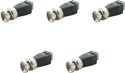 MX S-016 BNC for CCTV CABLE DVR PACK OF 5 Wire Connector