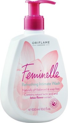 Oriflame Sweden Feminelle Refreshing Intimate Wash Intimate Wash(300 ml, Pack of 1) at flipkart