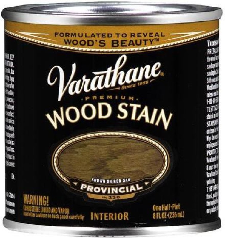 Varathane Provincial Oil Stain Wood Stain(236 ml)