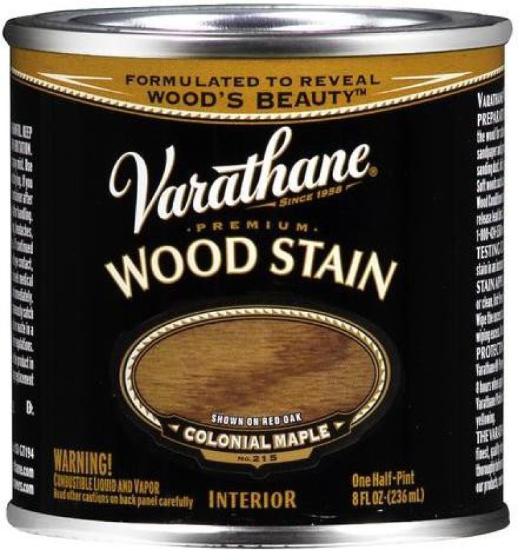 Varathane Colonial Maple Oil Stain Wood Stain(236 ml)