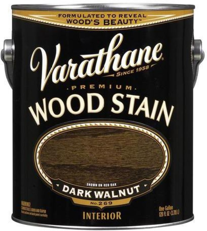 Varathane Dark Walnut Oil Stain Wood Stain(3.78 L)