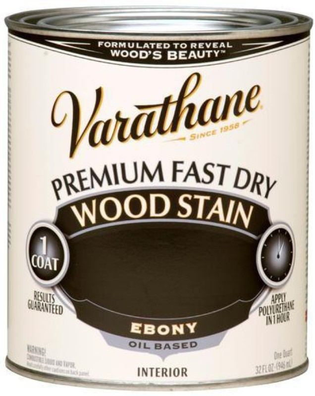 Varathane Ebony Oil Stain Wood Stain(946 ml)